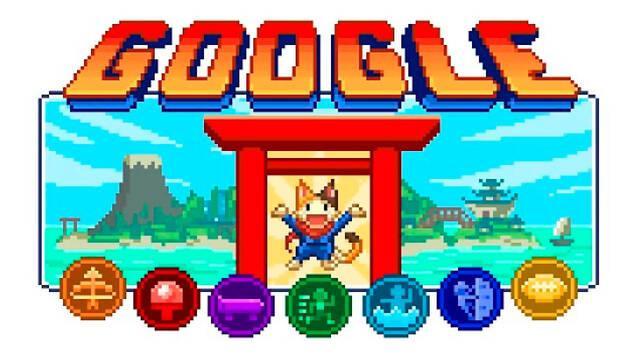 Google Doodle de las Olimpiadas 2020