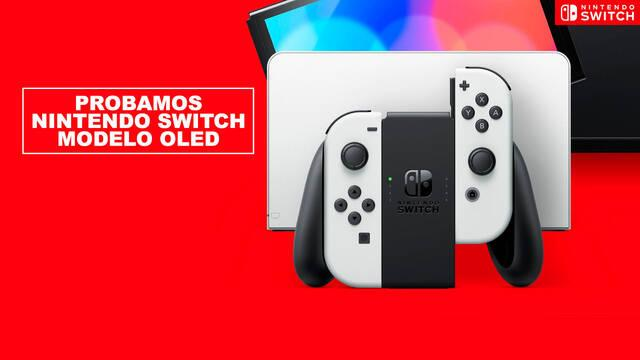 Probamos Nintendo Switch modelo OLED