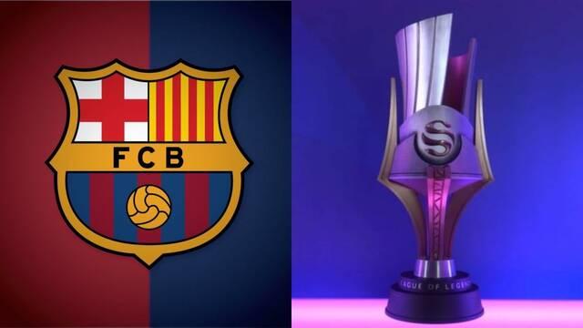 El FC Barcelona participará en la Superliga de LOL
