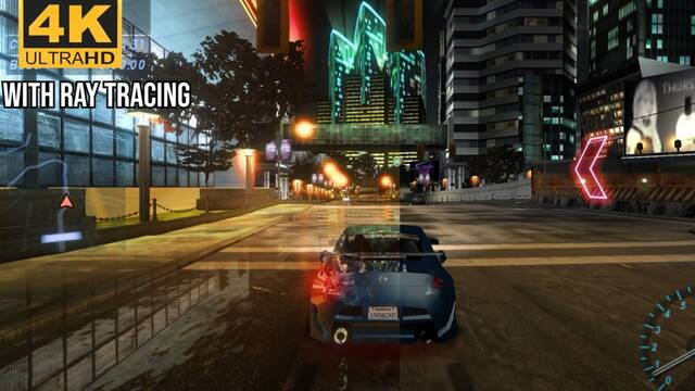 Need for Speed underground con ray tracing