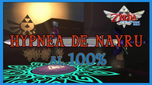Hypnea de Nayru al 100% en The Legend of Zelda: Skyward Sword HD