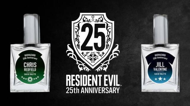 Capcom anuncia los nuevos perfumes de Resident Evil con motivo del 25 aniversario