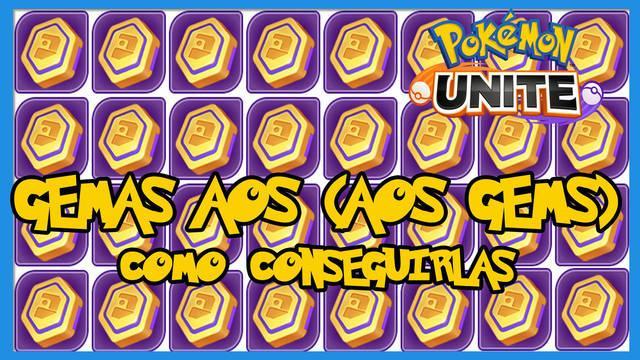 Pokémon Unite: ¿cómo conseguir gemas Aeos? - LEGAL