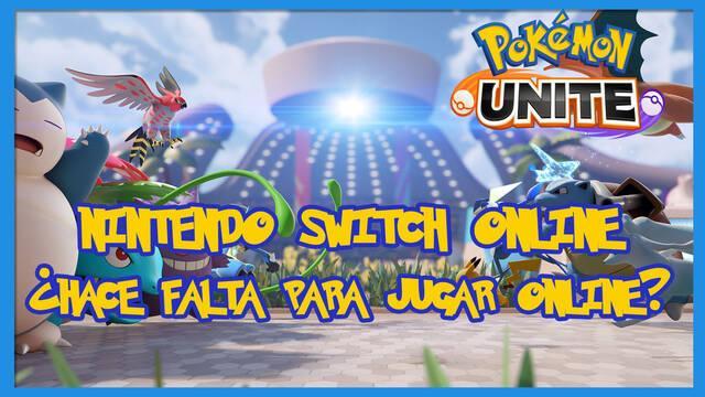 Pokémon Unite: ¿hace falta Nintendo Switch Online para jugar?