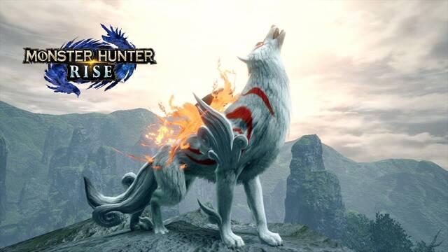 La colaboración entre Monster Hunter Rise y Okami