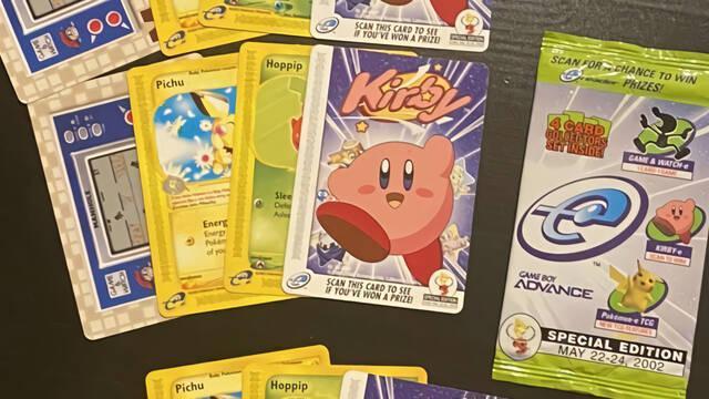 Encuentra una rara carta promocional de Kirby y la vende por 10.600 dólares