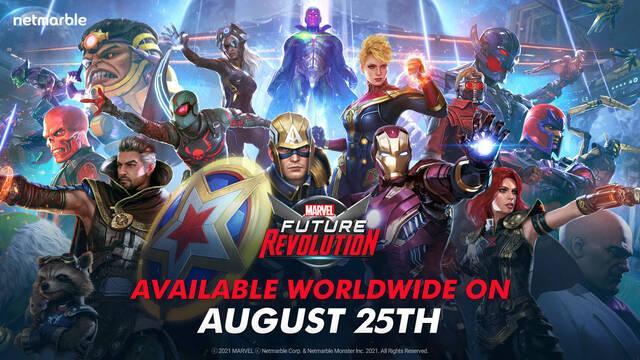 Marvel Future Revolution y su fecha de lanzamiento