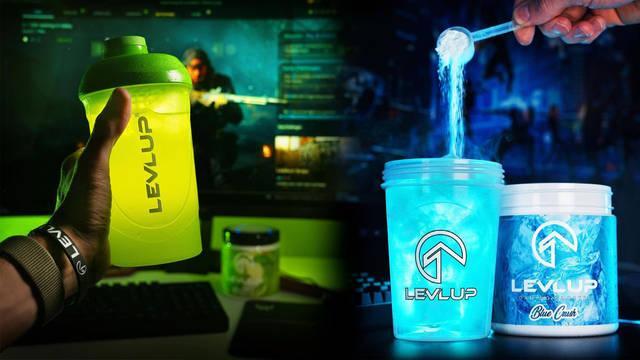 LevlUp, la bebida energética para gamers.
