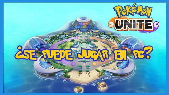 Pokémon Unite: ¿se puede jugar en PC?