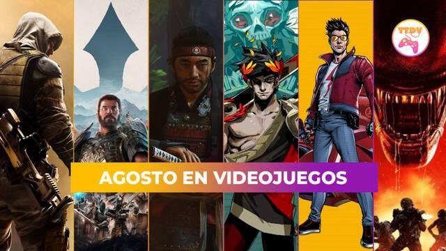 Los lanzamientos más destacados de agosto: Ghost of Tsushima DC, No More Heroes 3, Hades y más