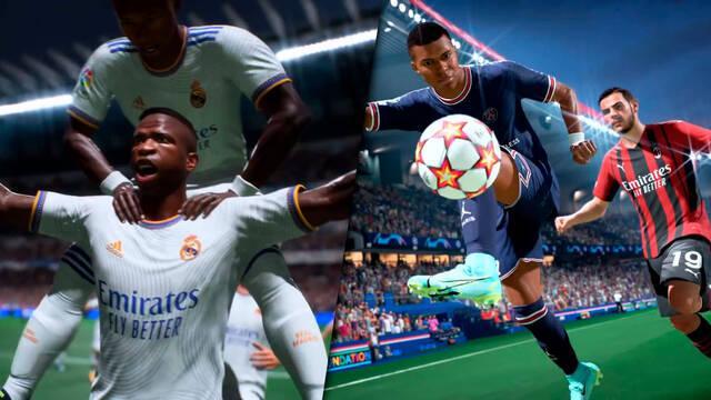Primer tráiler gameplay de FIFA 22.