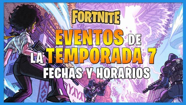 Fortnite Battle Royale - Eventos: fechas y horarios