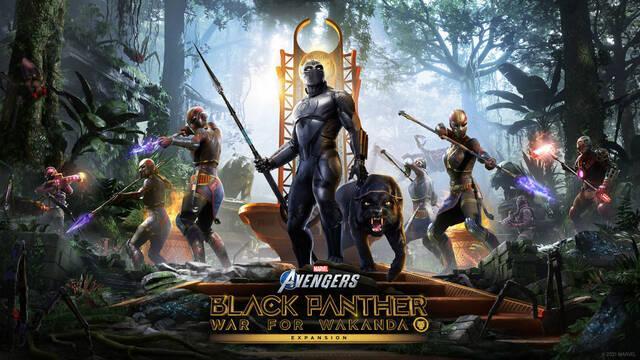 La expansión Guerra por Wakanda de Marvel's Avengers llegará el 17 de agosto