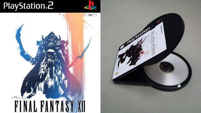 Así es el prototipo descartado de las cajas para PlayStation 2