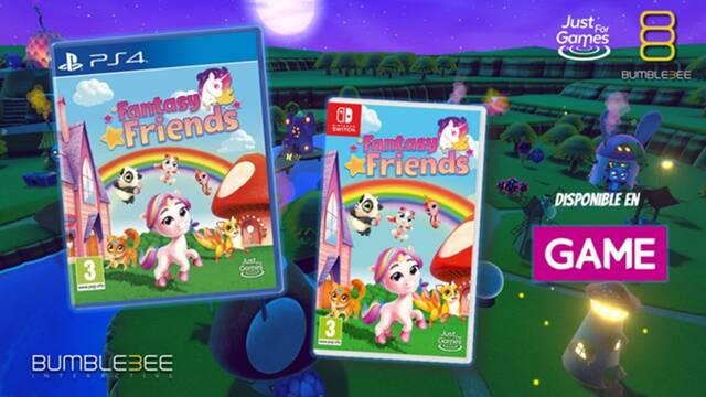Fantasy Friends ya disponible en GAME.
