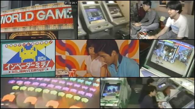 Salones arcade de Japón en 1979 y 1992.