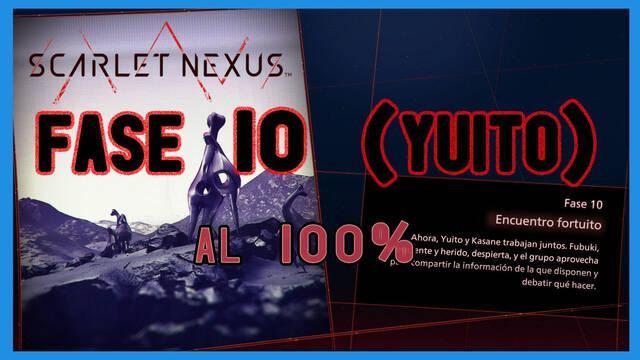 Fase 10: Encuentro fortuito al 100% en Scarlet Nexus