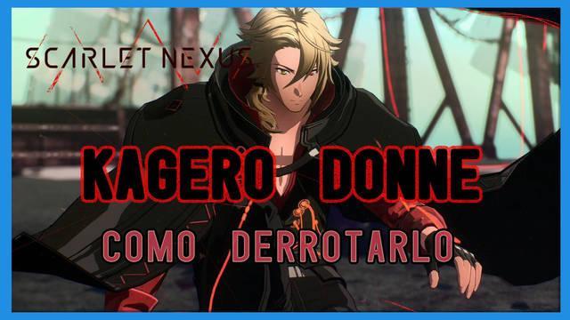 Kagero Donne en Scarlet Nexus: cómo derrotarlo, tips y estrategias