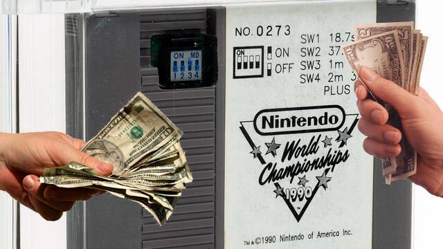 Un cartucho de Nintendo World Championships podría alcanzar el medio millón en una subasta
