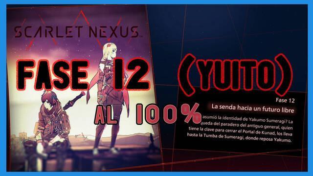 Fase 12: La senda hacia un futuro libre al 100% en Scarlet Nexus