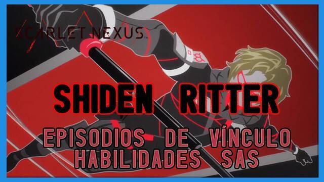 Shiden en Scarlet Nexus - Episodios de vínculo y habilidades SAS
