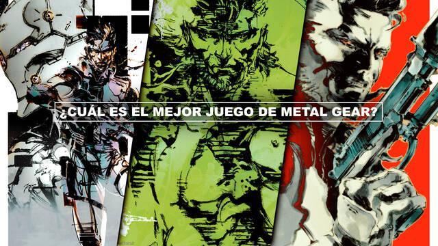 ¿Cuál es el mejor juego de Metal Gear Solid? - TOP 9