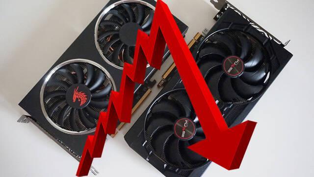 Cae el precio de las GPU de NVIDIA y AMD