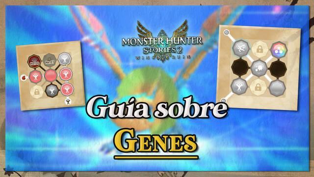 Guía de genética y rito canalizador en Monster Hunter Stories 2