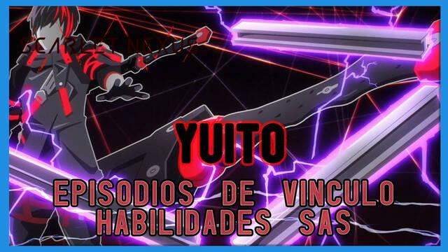 Yuito en Scarlet Nexus - Episodios de vínculo y habilidades SAS