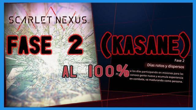 Fase 2: Días rotos y dispersos al 100% en Scarlet Nexus