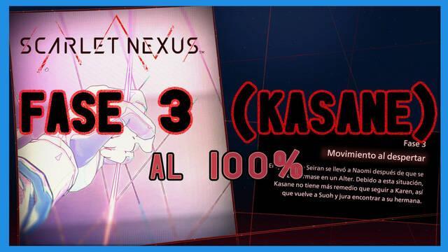 Fase 3: Movimiento al despertar al 100% en Scarlet Nexus
