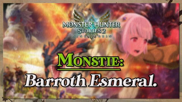 Barroth Esmeral. en Monster Hunter Stories 2: cómo cazarlo y recompensas