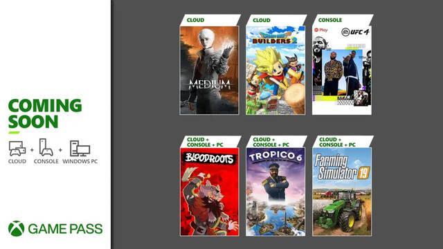 Juegos de julio en Xbox Game Pass.