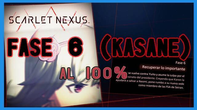 Fase 6: Recuperar lo importante al 100% en Scarlet Nexus