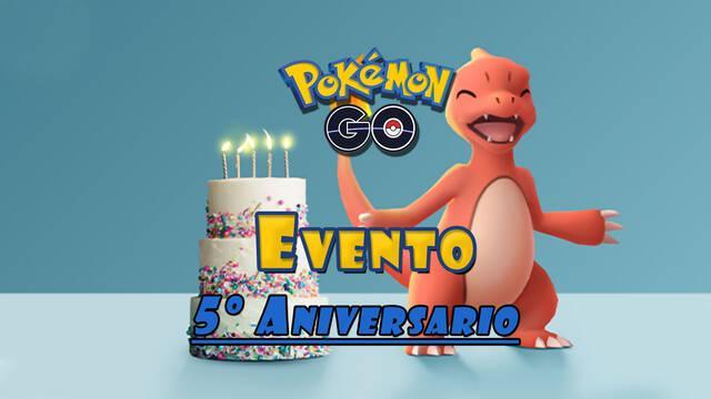 Pokémon GO celebra su quinto aniversario