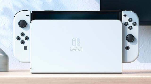 El nuevo 'dock' de Nintendo Switch OLED a la venta de manera independiente