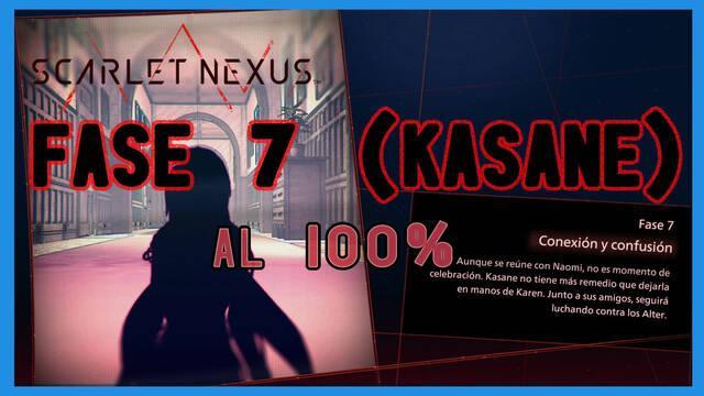 Fase 7: Conexión y confusión al 100% en Scarlet Nexus