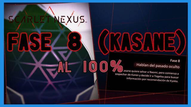 Fase 8: Hablan del pasado oculto al 100% en Scarlet Nexus