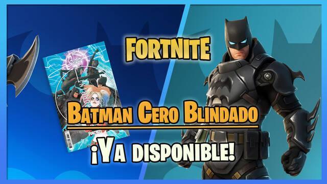 Fortnite - Ya disponible el atuendo de Batman Cero Blindado