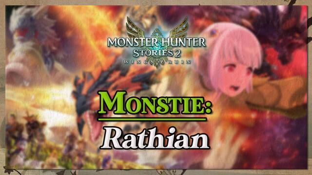 Rathian en Monster Hunter Stories 2: cómo cazarlo y recompensas