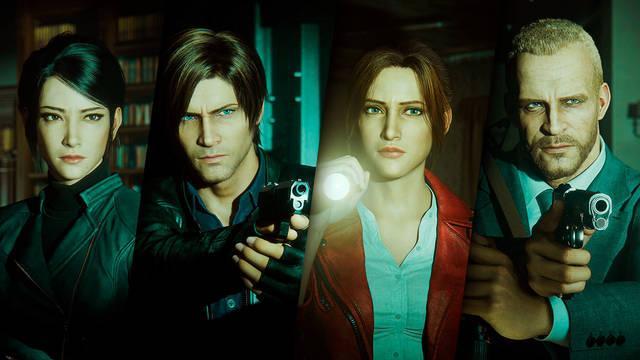 Resident Evil Oscuridad Infinita en Netflix ver aquí