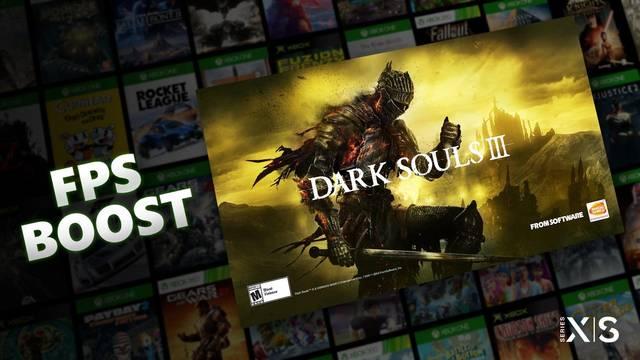 Dark Souls 3 Xbox Series 60 fps