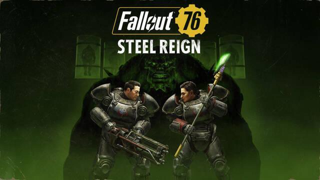 Fallout 76 El reinado del acero tráiler