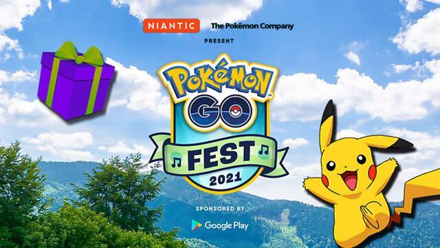 Pokémon GO - Regalos de Google Play en el Festival 2021