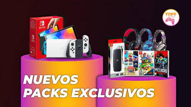 TTDV abre reservas de packs de Nintendo Switch OLED