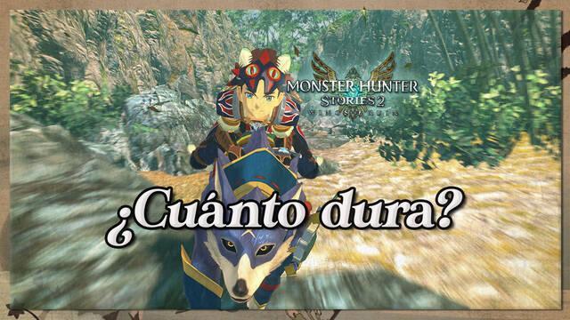 ¿Cuánto dura Monster Hunter Stories 2: Wings of Ruin?