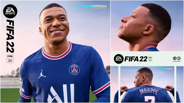 FIFA 22 portada Mbappé