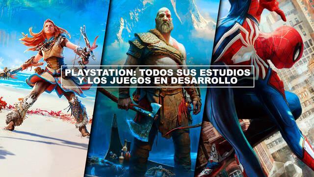 PlayStation: Todos sus estudios y los juegos en desarrollo