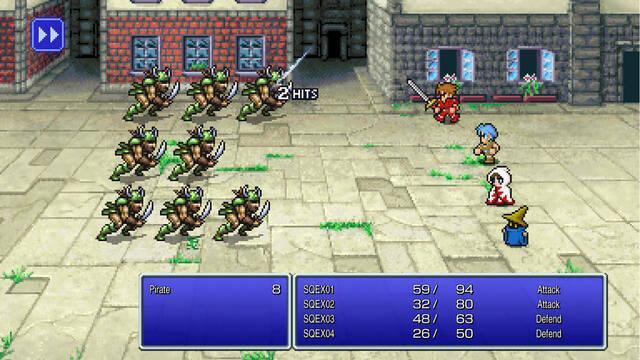 Final Fantasy Pixel Remaster: Encuentran la manera de hacer sus textos más legibles
