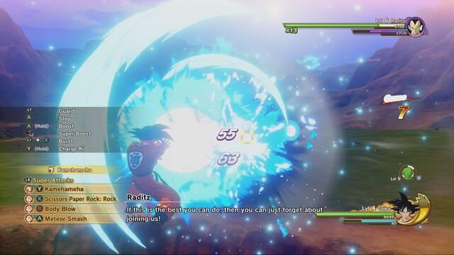 E3 2019: Así será la interfaz de Dragon Ball Z Kakarot